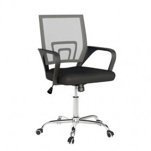 Silla de oficina Sochi color Grafito, cómoda y ergonómica, silla escritorio barata y de calidad. Sayez