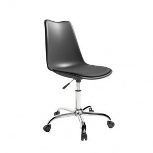 Silla de oficina Bremen color Grafito, cómodo y ergonómica, silla escritorio barata y de calidad. Sayez