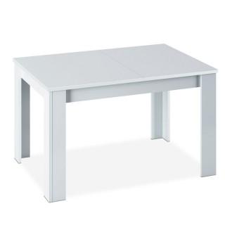 Mesa comedor extensible Kendra Blanca