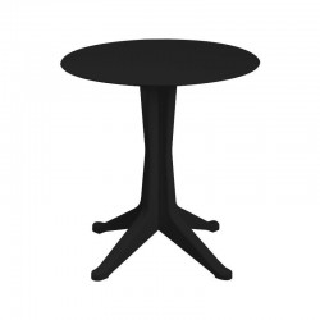 Mesa Levante fija color negro exterior e interior 4 patas. Sayez
