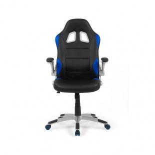 Silla oficina y escritorio gaming Mugello color azul. muy cómoda y barata. Sayez
