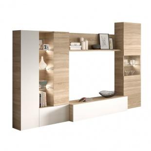 Mueble de Salon Essential  Roble Canadian ¡Envío gratis!