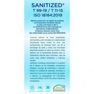 Colchón Viscoelástico Sanitec-22 Tratamiento Antibacterias ¡Portes Gratis!