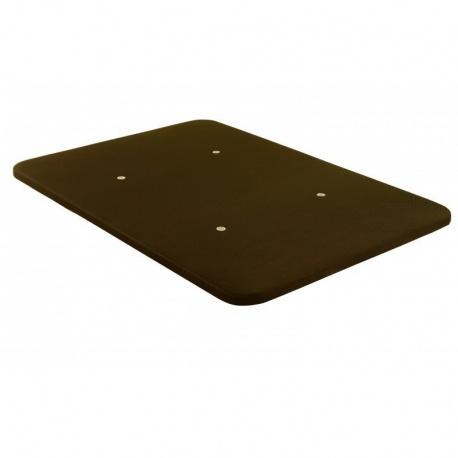 Base Tapizada 135 x 190 Chocolate Top