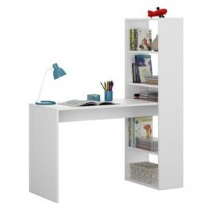 Mesa de escritorio con estantería Duplo