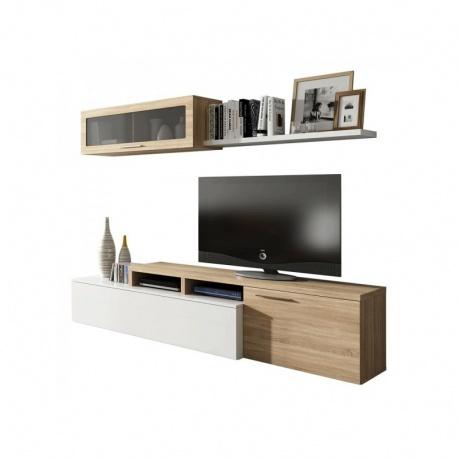Mueble de salón Nexus Roble Canadian