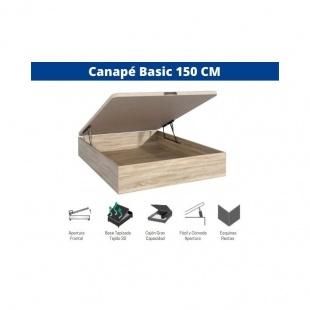 Canapé Basic con Tapa 135x190 Cambrian