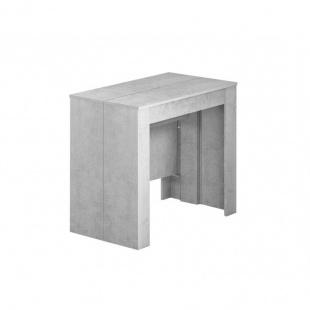 Mesa comedor extensible consola Cemento